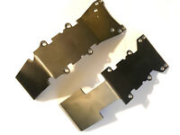 Gorillamaxx UE HCR Titanium F&R Skid Plates for Traxxas Emaxx Tmaxx 2.5 3.3
