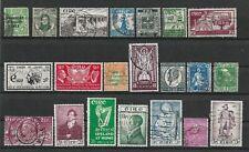 Ireland, selection of 33 fine used, 1922-1968