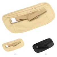 Travel Money Belt Safe Secure Hidden Pouch For Money Cards Passports Bag Gift