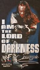 VTG 90s The Undertaker Lord of Darkness T Shirt WWF WWE Wrestling Black NEW XL