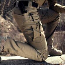 Mens Tactical Cargo Work Pants, Waterproof, Workwear/Military/Hiking/Outdoor