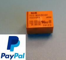 2x NAIS TX2-5-V Signal Relais 2 Form C DPDT 2A 5VDC # 714701