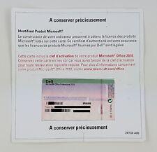 MS Office 2010 Professional Pro Vollversion PKC Französisch OEM multilingual MUI