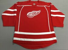 DETROIT RED WINGS NHL ICE HOCKEY RED STRIPED JERSEY YOUTH KIDS XL