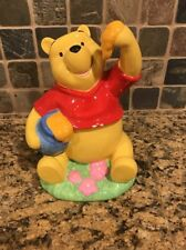 Vintage Winnie The Pooh Ceramic Piggy Bank Disney Collectible. Made In China