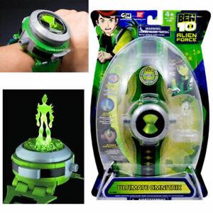 Omnitrix Watch BEN 10 Ten Projector Alien Force Illumintator Bracelet Kids Toys