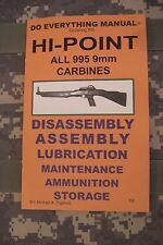 Hi-Point All 995 9mm Carbines Do Everything Manual