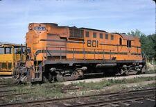 Maine Central (MEC) - RS11 - #801 - Original 35mm Slide.