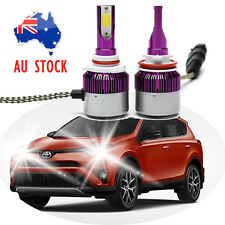 Cree 9012 HB4 9006 LED Headlight Beam Bulb Pure White AU Stock For Toyota RAV 4