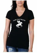 Gildan V Neck Graphic T-Shirts for Women