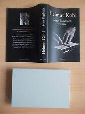 Kohl,Helmut.Mein Tagebuch 1998-2000 SIGNIERT Bundeskanzler BRD CDU Einheit