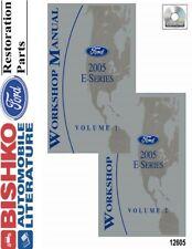 2005 Ford E-Series Truck Shop Service Repair Manual CD