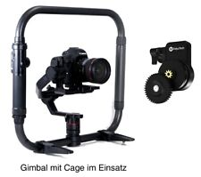 FeiyuTech AK2000 + Cage + Follow Focus II Gimbal Bluetooth Kameras bis zu 2,8 kg