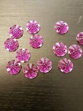 Purple 16mm Sew On Stitch Bead JEWEL GEM CRYSTAL RHINESTONE Bead DANCE
