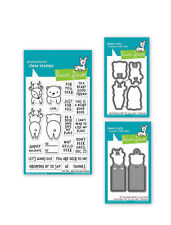 Lawn Fawn For You Deer Animal Season Lawn Cuts Dies + Photopolymer Clear Stamps