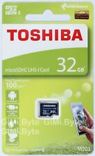 Toshiba M203 32 GB micro SDHC memory card 100MB/s Class 10 UHS U1 TF 32G extreme
