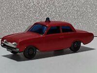Wiking ( 600 / 10B , CS 1043 / 2 ) - Ford Taunus 17 M Badewanne Feuerwehr