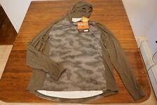 NWT Simms Fishing SolarFlex Hoody, Size L, Hex Camo Loden Color UPF 50 Shirt
