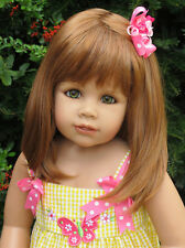Masterpiece Dolls Julia,Strawberry Blonde Wig That Fits an 18 1/2-inch Head
