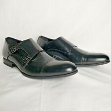 Unlisted by Kenneth Cole Men's EEL Monk-Strap Loafer US 13M Black