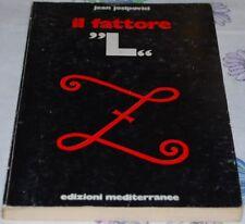 """JOSIPOVICI - IL FATTORE""""L"""" - Mediterranee 1976"""