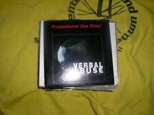 CD punk verbalement abuse red, white & violent promo C Media