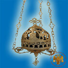Orthodox Vigil Lamp With Theotokos Shape Lid Ikonenampel Ewiglicht Mit Deckel