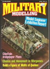 British Military Modelling magazine  APRIL  1984