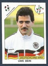 PANINI WORLD CUP STORY #206-ITALIA 90-DEUTSCHLAND-BRD-GERMANY-UWE BEIN