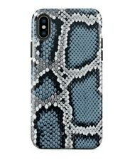 URBAN MAZE SNAKE PRINT BURGA IPHONE XS MAX TOUGH CASE BLUE/WHITE/BLACK/GRAY