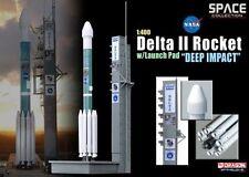 """Delta II Rocket """"Deep Impact"""" Dragon 56243 NASA SPACE Collection 1:400 Rakete"""