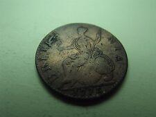George III Half-Penny 1775 Error Colonial US (5879)
