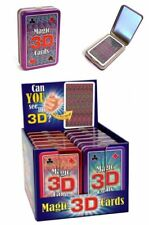 Magic 3D Playing Cards Adult Kids Fun Game Clever Cheating Deck Stocking Filler