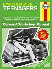 Haynes Explains TEENAGERS Book Owners Workshop Manual Adults Very funny gift New