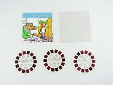 Little Red Riding Hood & Little Mermaid VIEW-MASTER Set of 3 Reels GAF Hansel &