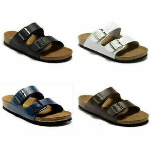 Birkenstock Mayari Birko-Flor Nubuck Sandals - Regular Unisex Men's Women's - Mo
