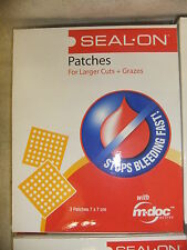 Medical patches SEALON for larger cuts & Grazes 3 per pack