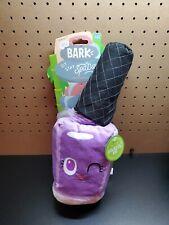 Bark Sit Stay Spa Day Pet Me Pawlish 2 Piece Purple Dog XL Size Toy