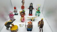ANTIQUE TIN TOYS IRON METAL MODELS KIDS/ADULTS HOME DECORATION LOT