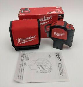 Milwaukee 2-Beam Plumb Laser Level 12V 2320-20 M12 w/ Box ~ Pre-owned Bare Tool