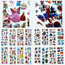 10/20/30/40 Sheets Bubble Stickers Kids Child Scrapbooking Paper Car Crafts Gift