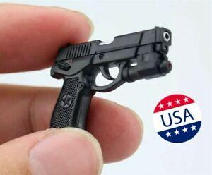 1/6 Semi-automatic QSZ92 Pistol Hand Gun Weapon Model 12'' Figure Toy Accessory