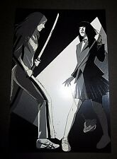 Craig Drake Beatrix and Gogo Kill Bill Print Mondo artist Tarantino Le x/250
