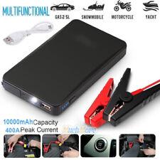 Portable 12V 400A Car Jump Starter Battery Booster 10000mAh Emergency Power Bank