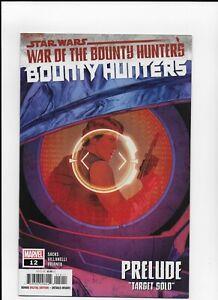 Star Wars War on the bounty Hunters Prelude # 1 Marvel comics 1st print N mint