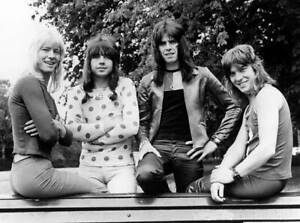 Andy Scott And Sweet And Brian Connolly And Mick Tucker 1970s OLD PHOTO 1