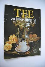 DDR Kochheft Tee zu jeder Tageszeit