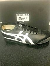 ONITSUKA TIGER - UNISEX MEXICO 66  BLACK WHITE SNEAKERS -  DL408 9001