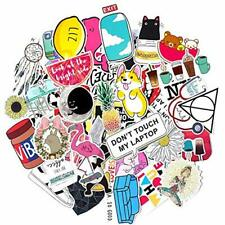 Stickers for Water Bottles Big 50-Pack Cute Aesthetic Trendy Cute-50pcs