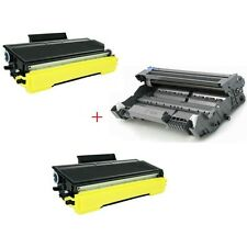 3PK for BROTHER (DR520+TN580x2) TONER TN-580 DRUM TN550 MFC-8860DN MFC-8870DW